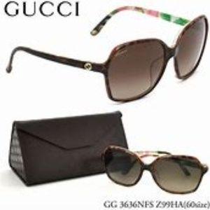 Gucci Sunglasses 3636/N/F/S Red frame